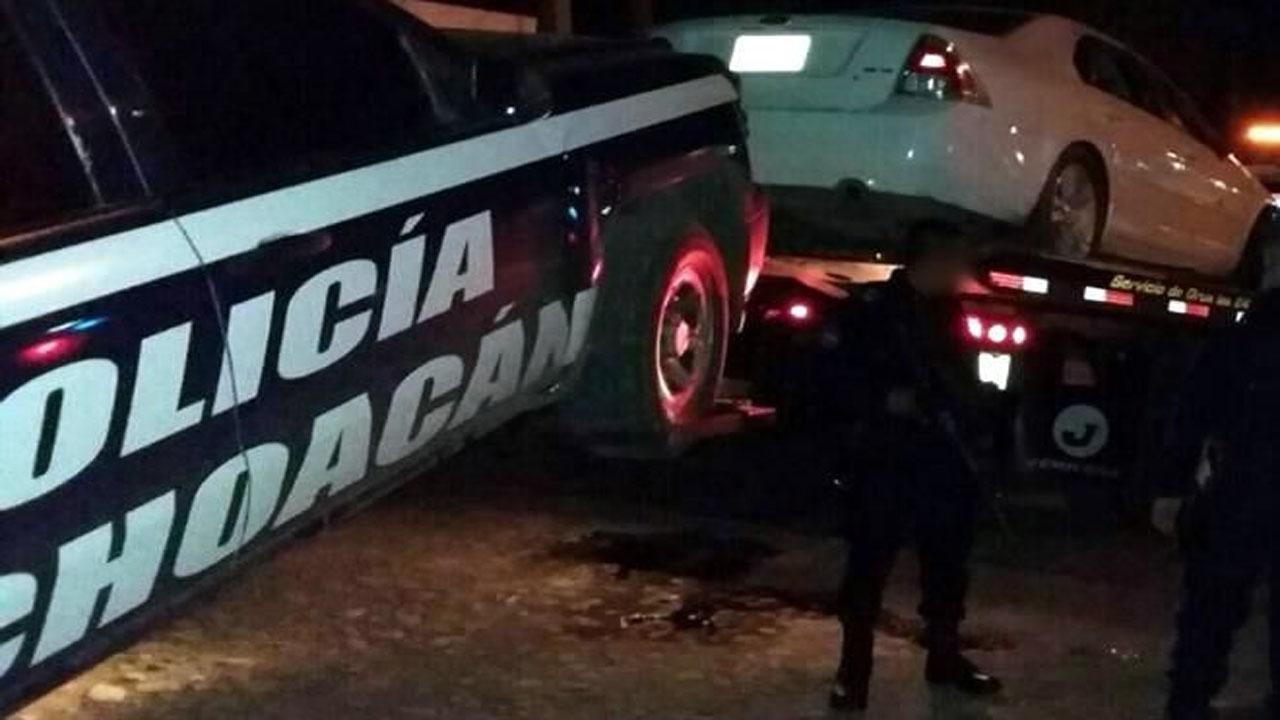 Enfrentamiento en Apatzingán