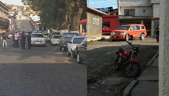 Balacera en Pátzcuaro