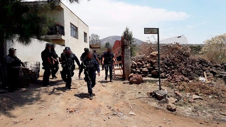 Enfrentamiento en Michoacán