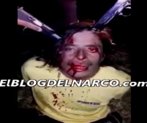 EN VIDEO: supuestos sicarios levantan, torturan y ejecutan a sangre fría a criminal