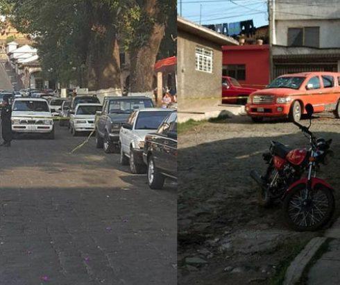 Se enfrentan a balazos en pleno centro de Pátzcuaro