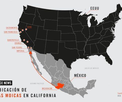 """DEA desactivó """"Los Moicas"""" peligroso grupo criminal en Michoacán ¡PGR ignora su existencia!"""