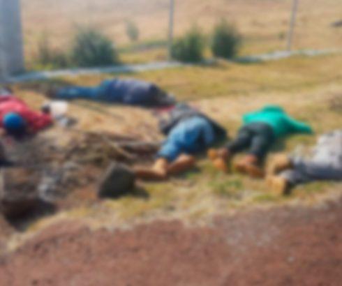 Ejecutan a siete personas y abandonan sus cuerpos en Salvador Escalante